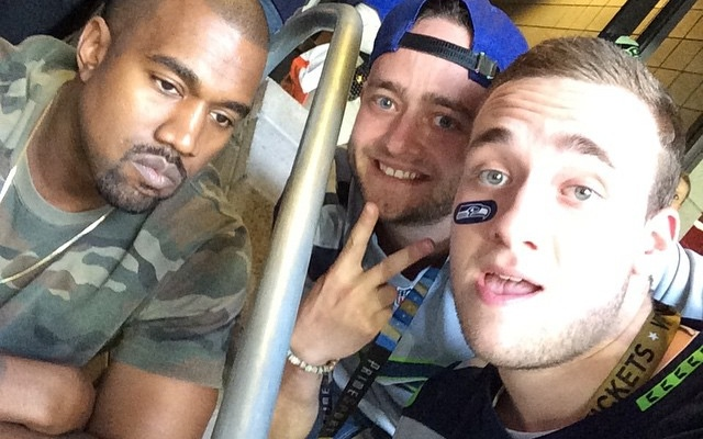 Kim i Kanye jak zwierzęta w zoo na Super Bowl (FOTO)