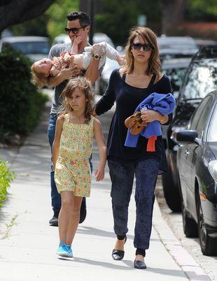 Rodzinne popołudnie w wydaniu Jessiki Alby (FOTO)