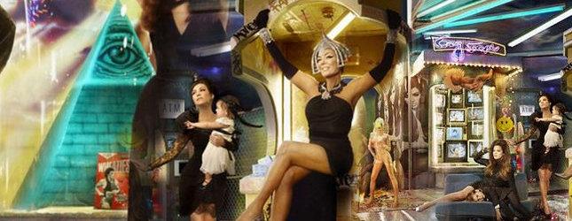 świąteczna Karta Kardashianów