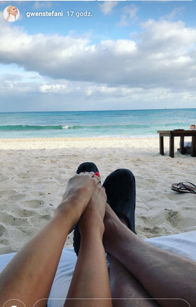 Z kim Gwen Stefani spędza wakacje? Nagrała filmik!