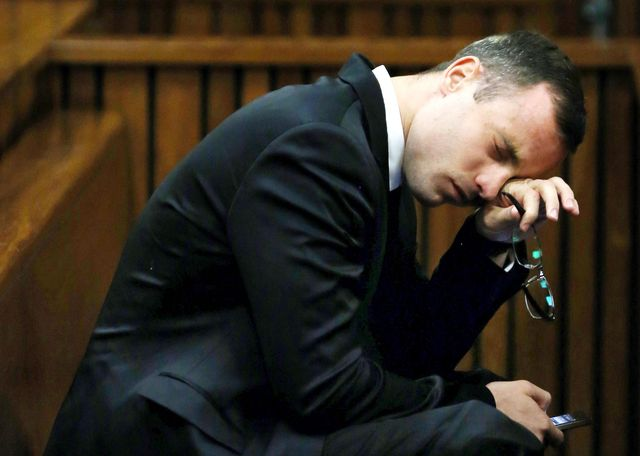 Szok! Oscar Pistorius podciął sobie żyły!