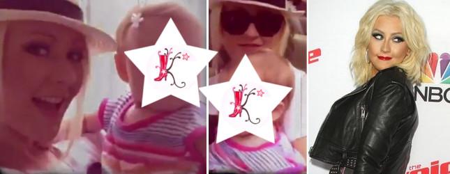 Christina Aguilera pokazała słodkie video z córeczką (Insta)