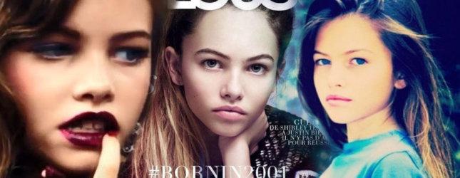 THYLANE BLONDEAU – 13-latka następczynią Kate Moss