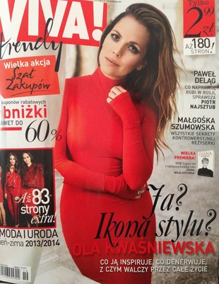 Ola Kwaśniewska w Vivie!: Media zepsuły moją suknię ślubną