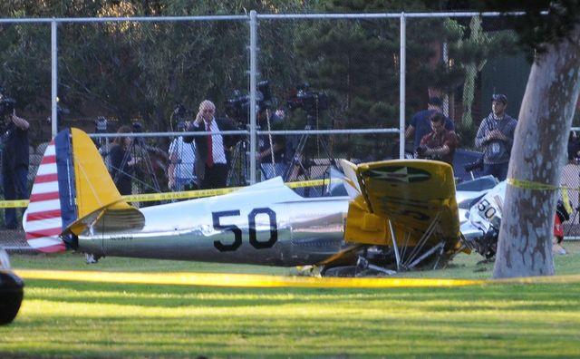 Mamy zdjęcia z miejsca wypadku Harrisona Forda (FOTO)
