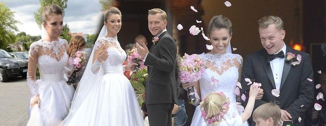 Są zdjęcia ze ślubu Kuby Wesołowskiego i Agnieszki Szczurek