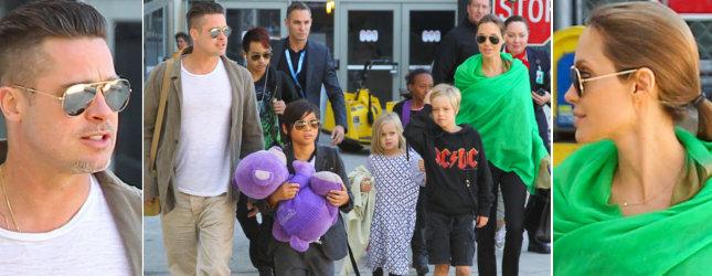Angelina Jolie, Brad Pitt i ich wszystkie dzieci (FOTO)