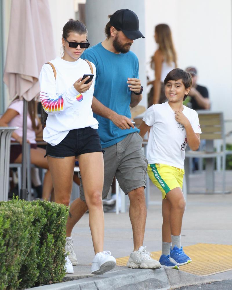Syn Scotta Disicka cieszył się ze spaceru. Wszystko zepsuła Sofia Richie!