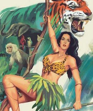 Katy Perry promuje Roar (FOTO)
