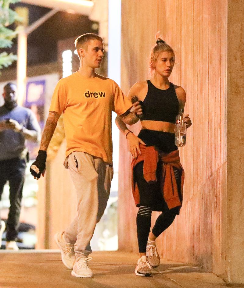 Justin Bieber w NOWEJ fryzurze ćwiczy razem z żoną (ZDJĘCIA)
