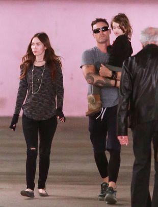 Megan Fox i Brian Austin bawią się w kotka i myszkę (FOTO)