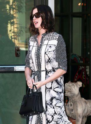 Anne Hathaway dała popis w restauracji!