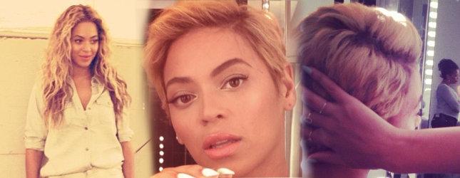 Beyonce ścięła włosy! (FOTO)