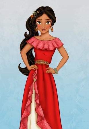 Oto nowa księżniczka Disneya – poznajcie Elenę, Latynoskę