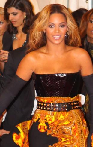 Włosy Beyonce wciągnął wentylator! (VIDEO)