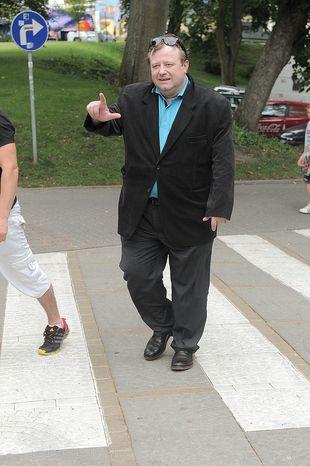 Olaf Lubaszenko tyje w oczach  (FOTO)