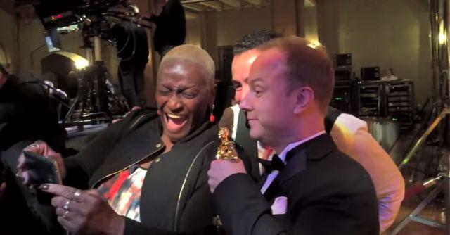 Udawał, że dostał Oscara – musicie TO zobaczyć! (VIDEO)