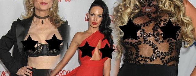 Co gwiazdy porno pokazują na rozdaniu swoich nagród?