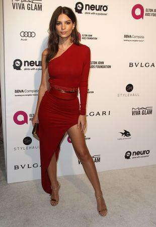 Emily Ratajkowski wyglądała w tej sukni ZJAWISKOWO