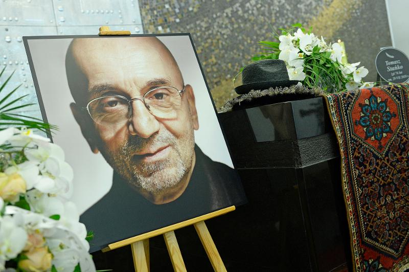 Pogrzeb Tomasza Stańki: Wojewódzki, Sipowicz i Dudziak