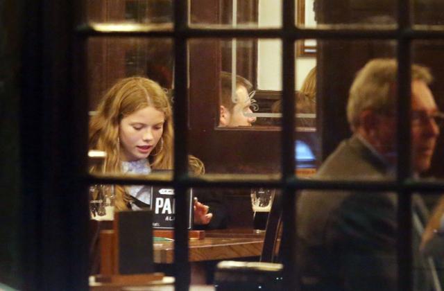 Brooklyn Beckham na randce z nieznajomą! (Ekskluzywne zdjęcia)