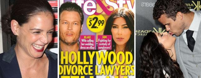 Prawnicy gwiazd zdradzają szczegóły hollywoodzkich rozwodów!