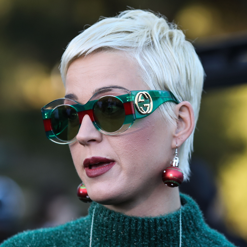 Co się stało z twarzą Katy Perry?