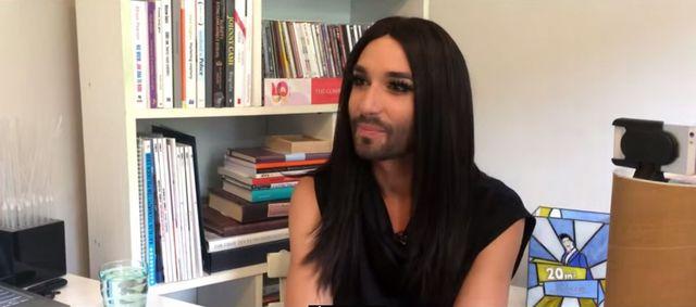 Łukasz Jakóbiak mocno zaskoczył Conchitę Wurst (VIDEO)