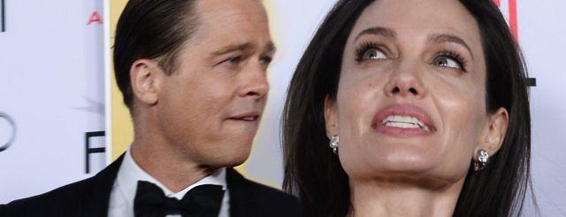 Angelina Jolie PRZERAŻONA! Brad Pitt nie może zrobić… tego?!