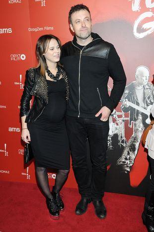 Tymon Tymański zabrał ciężarną żonę na salony (FOTO)