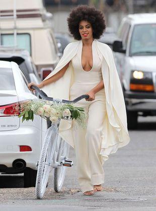 Już wiadomo, co stało się z twarzą Solange na jej ślubie
