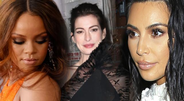 Anne Hathaway mówi o tym, jakie naprawdę są Kim Kardashian i Rihanna