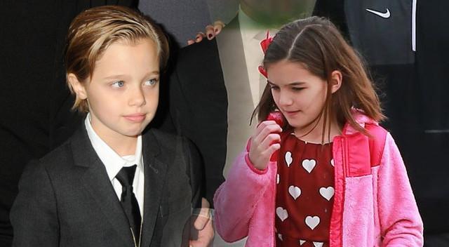 Suri Cruis i Shiloh Jolie-Pitt połączyło coś niesamowitego