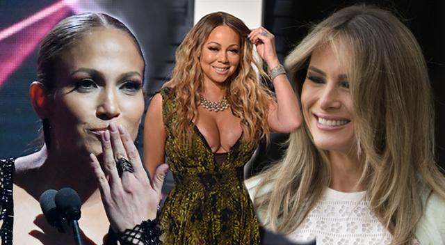 Zdziwisz się, co Melania Trump, Jennifer Lopez i Mariah Carey mają wspólnego!
