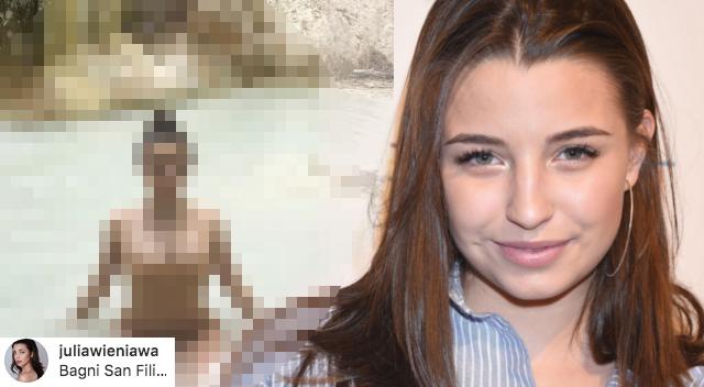 Julia Wieniawa wyjechała za granicę! Fani: Co z maturą?!