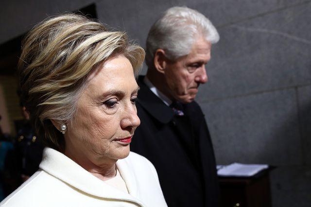 Bill Clinton nie mógł oderwać wzroku od Ivanki Trump! (VIDEO)