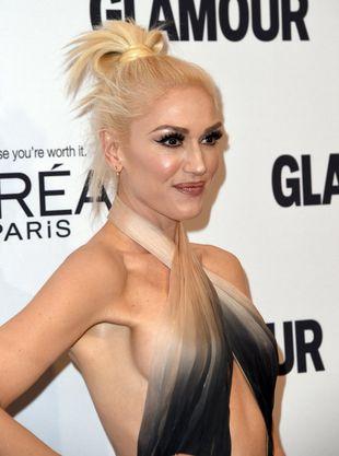 Gwen Stefani mogła zaplątać się we własnej stylizacji (FOTO)