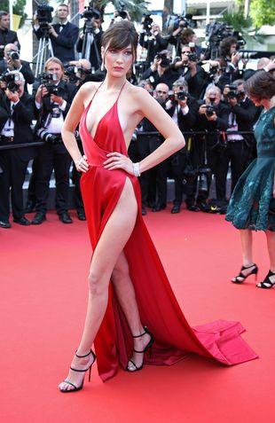 Czy to najodważniejsza kreacja w historii Cannes? Bella Hadid szokuje!