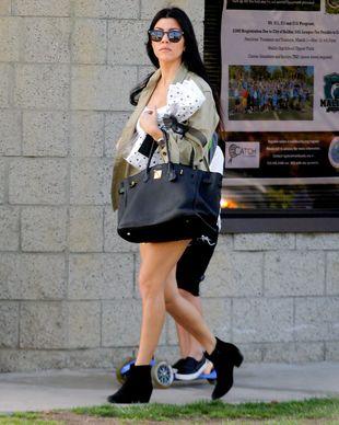 Kourtney Kardashian nie chodzi z byle kim na kolacje