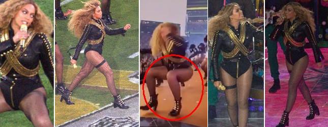 Beyonce o krok od tragedii podczas występu na Super Bowl!