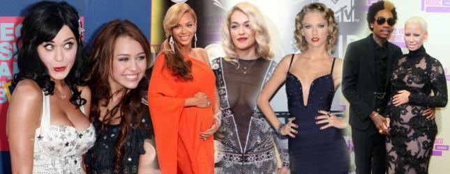 Tak wyglądały gwiazdy na VMA w poprzednich latach (FOTO)