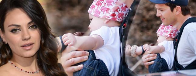 Ashton Kutcher – tatuś idealny? (FOTO)