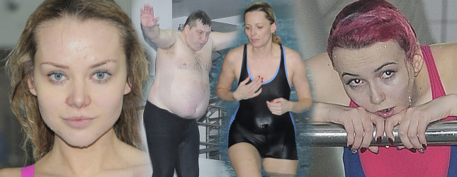 Gwiazdy ostro trenuj� do Celebrity Splash (FOTO)