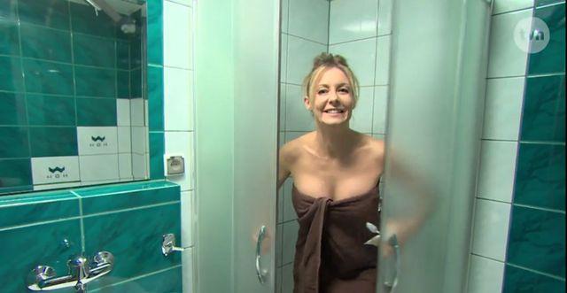 Prysznice dziewczyny