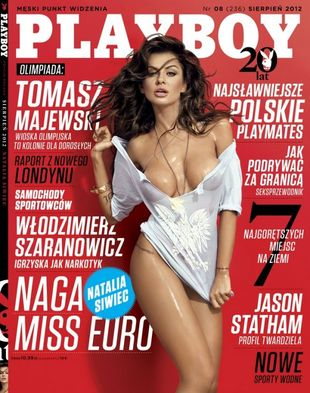 Natalia Siwiec w Playboyu podbija Brazylię (FOTO)