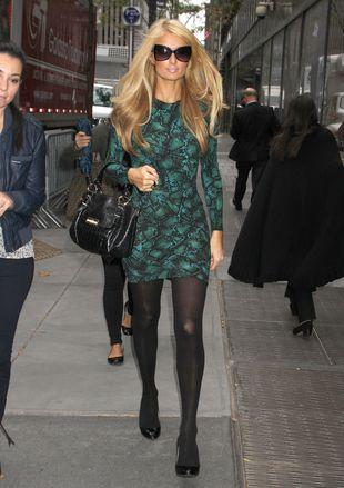 Paris Hilton na antenie: P*erdolony d*pek (VIDEO)