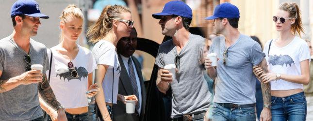 Zakochany Nowy Jork – Adam Levine i Behatii Prinsloo (FOTO)