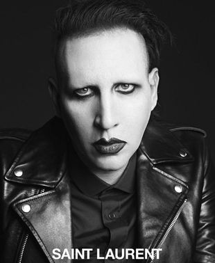 Marilyn Manson i Courtney Love nowymi twarzami Saint Laurent