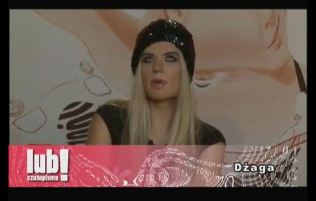 Sobowtór Dody, czyli pan Dżaga (VIDEO)
