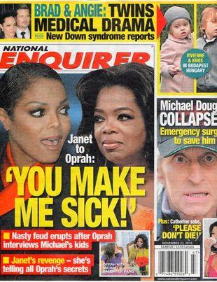 Janet Jackson do Oprah: Wkurzasz mnie! [VIDEO]